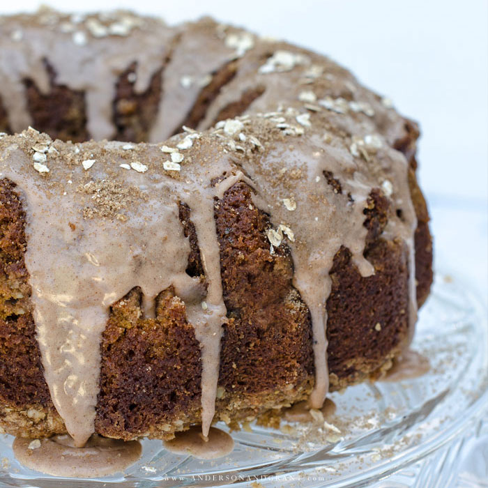 Glazed Coffee Cake