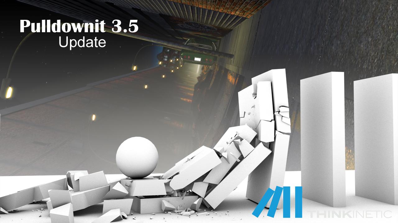Pulldownit v3 5 for 3d Max 2016 and Maya 2016 ~ 3D Blog