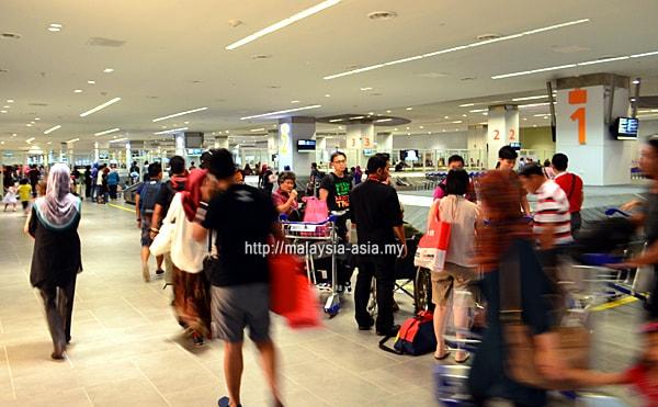 Baggage Collection Area KLIA2