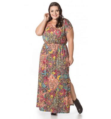 vestido plus size