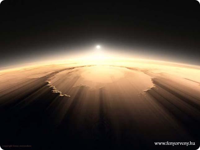 Napfelkelte a Marson - Lenyűgöző képekkel!
