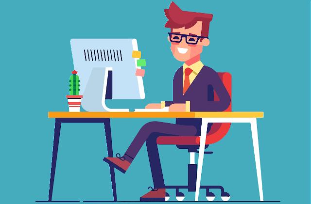Tips duduk di depan komputer