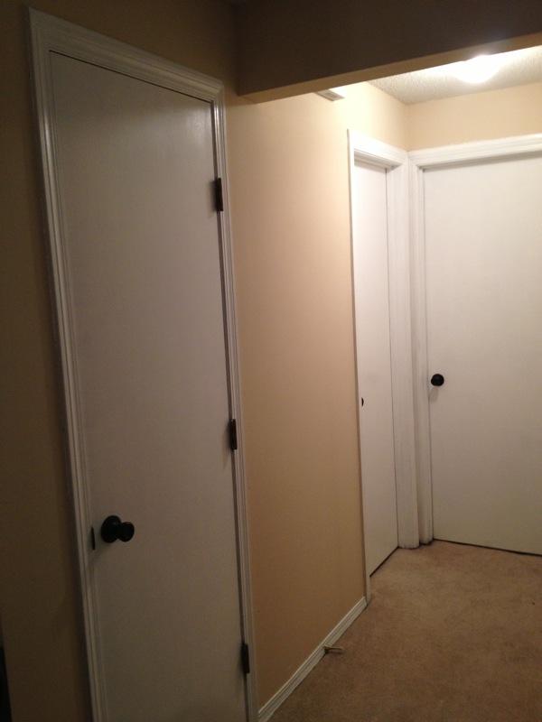 Painting Oak Doors White