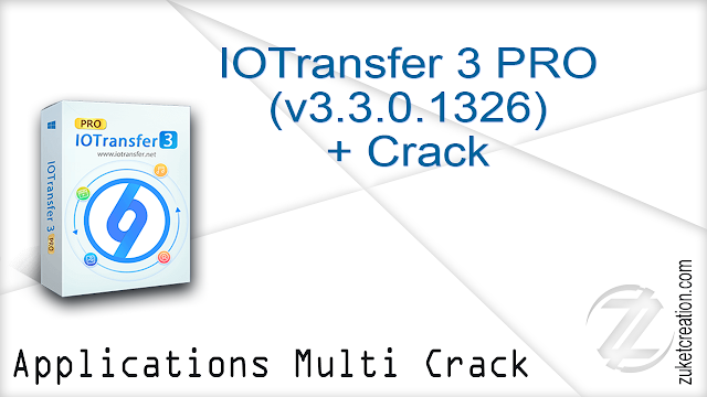 IOTransfer 3 PRO (v3.3.0.1326) + Crack