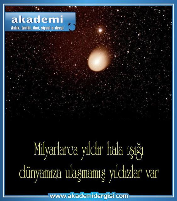 astronomi, gök katları, güneş, ışık, kainat, nur, semalar, süleyman hilmi tunahan, uzay bilimi, yedi kat sema, yıldız, ziya, akademi dergisi, gezegenler,