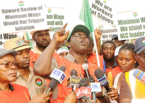 Labour To Buhari: Sign N30,000  New Minimum Wage Bill Now