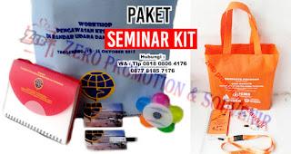 Jual Paket Seminar Kit Murah dan Unik goodiebag /tas seminar kit, block note seminar kit, pulpen seminar kit, gift set, topi seminar kit, tali name tag