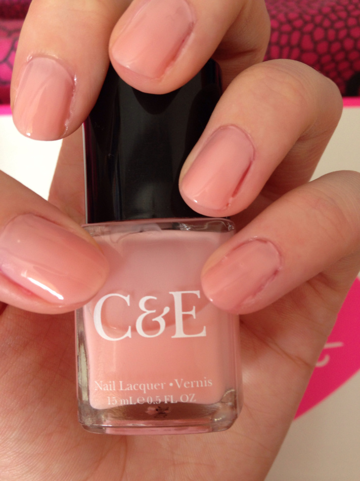 Crabtree & Evelyn nail lacquer - petal pink | All Things That Glitter