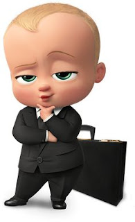 Baby Boss pensando