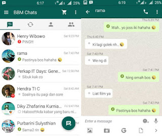 Download BBM Mod Whatsapp v 2.13.0.26 Apk for Android