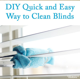 DIY Window Blind Cleaning Tool