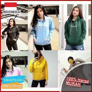 MTS149 Sweater Atasan Hodie Kantong Oh BMGShop