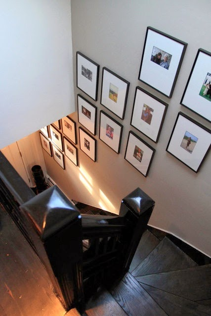 50 Creative Staircase Wall decorating ideas, art frames ... on Creative Staircase Wall Decorating Ideas  id=22591