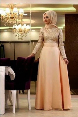 trend hijab pesta