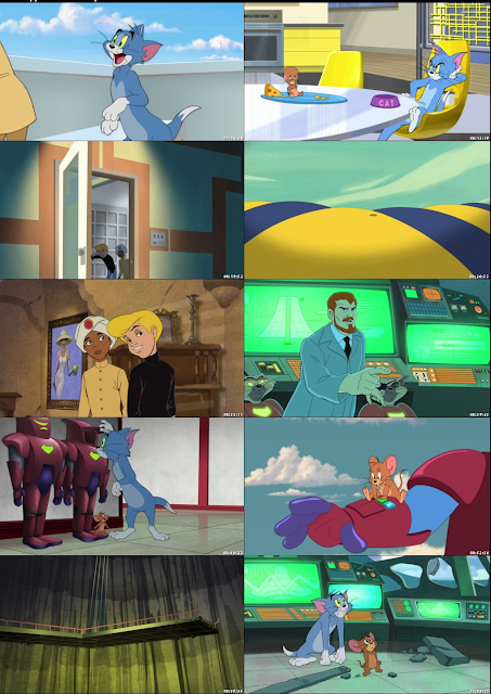 Tom and Jerry Spy Quest 2015 Movie Free Download 720p BluRay DualAudio