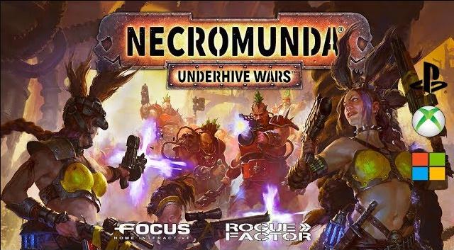 """Necromunda: Underhive Wars"" Game nhập vai chiến thuật 4X 2019"