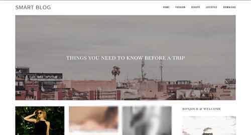 Smart Blog Blogger Template