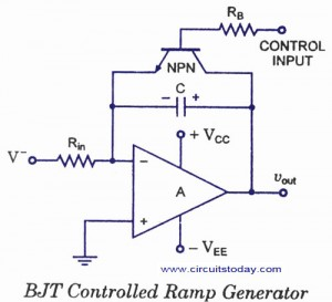 How to make a Sawtooth Wave Generator using Op-Amp 741 IC