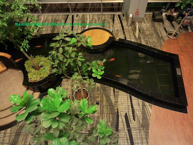 Koi Ponds, Transit Area, T3, Changi Airport, Singapore