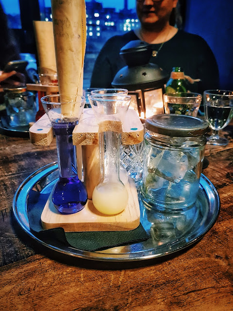 Harry Potter potions cocktail making