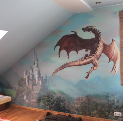 Нанесение рисунка на стену в Волгограде - Алексей Захаров