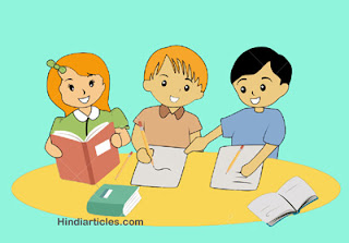 adarsh vidyarthi essay in hindi