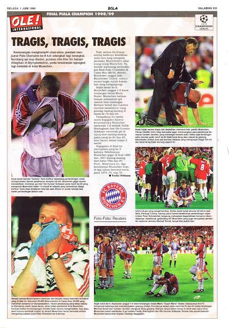 UEFA CHAMPIONS LEAGUE 1998/99 FINAL