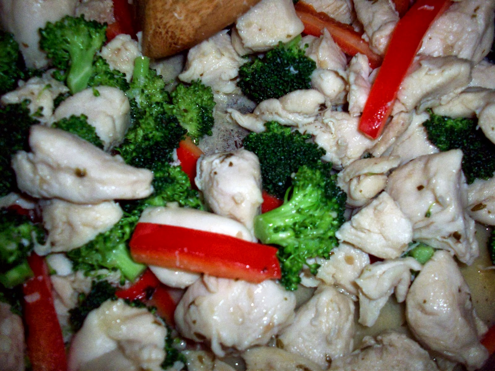 Chicken Campenelle with Garlic Herb Sauce – Plus this weeks Dinner ...