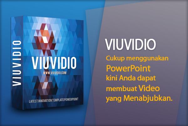 Viuvideo Powerpoint Template - Membuat Video Keren dengan Powerpoint