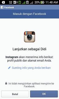 Cara Membuat Instagram di HP