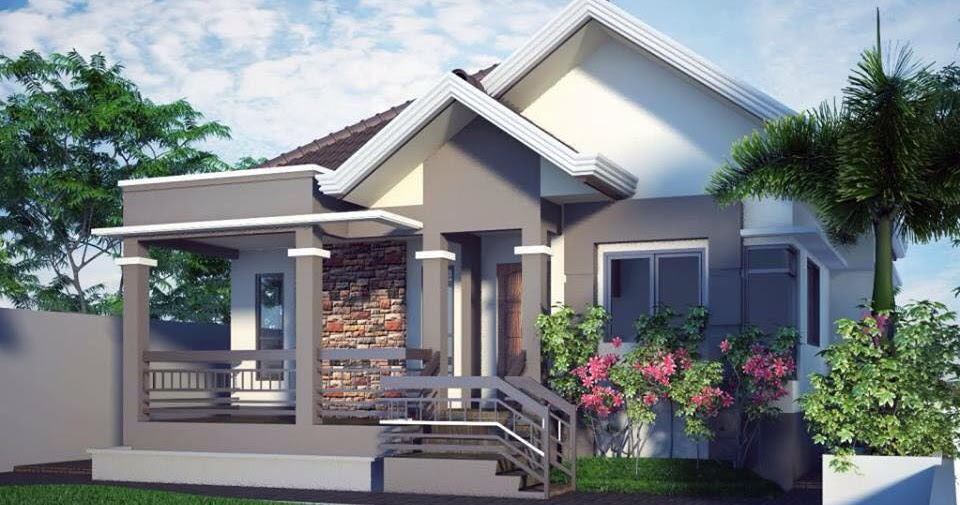 20 small beautiful bungalow house design ideas ideal for for Home designs 12m frontage