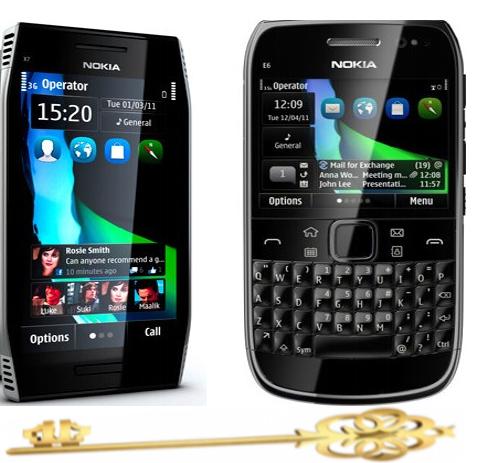 Nokia E71 1 Hard Reset