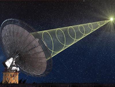 Misterioses senyals de ràdio posen a prova el Principi d'Equivalència