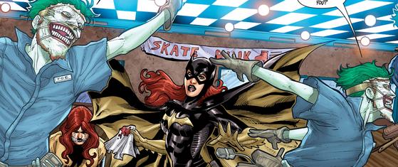 Batgirl #15 New 52 Joker DC Comics Barbara Gordon bowling alley
