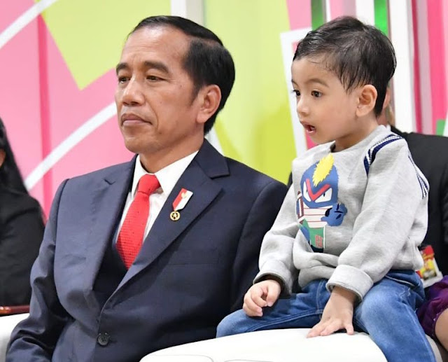 Presiden Jokowi: Indonesia Negara Paling Bahagia di Dunia