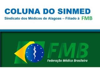 Logo SINMED -AL e FMB