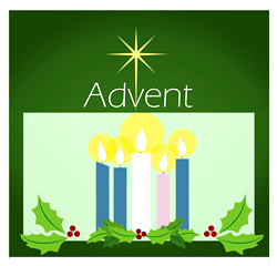 The season of Advent.