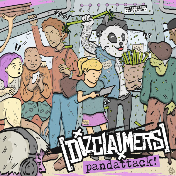 "Dizclaimers stream new songs off upcoming album ""Pandattack!"""