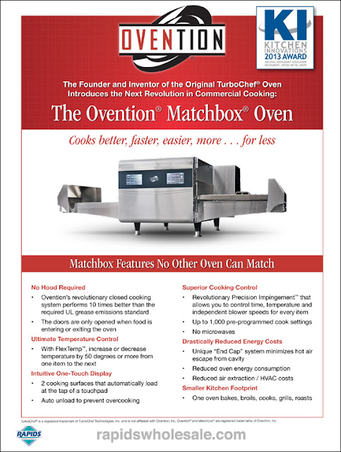 matchbox oven at rapidswholesale