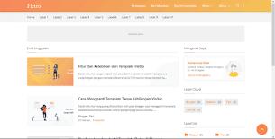 Fletro - Responsive Blogger Template