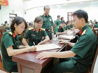 Cục đào tạo Bộ Quốc phòng vừa công bố chỉ tiêu tuyển sinh hệ đại học, cao đẳng các trường đào tạo khối ngành quân đội năm 2017.