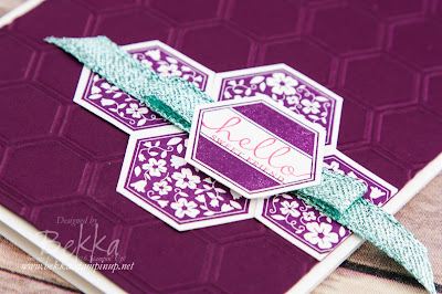 Six Sided Sampler Hello Card In Blackberry Bliss - products from Stampin' Up! UK