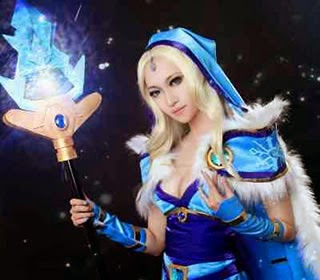 Crystal Maiden (Rylai) DOTA photo 3