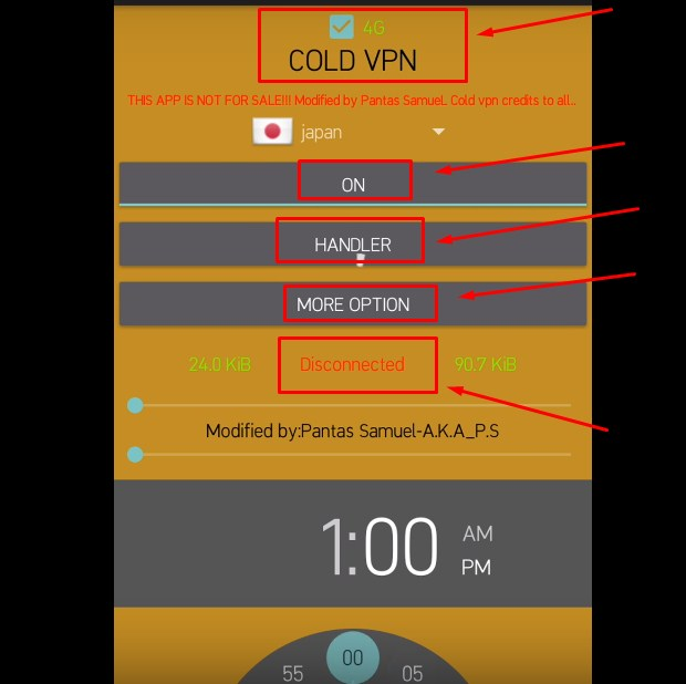 Cara Menggunakan Cold VPN di Hp Android LANGKAH KETIGA 2019