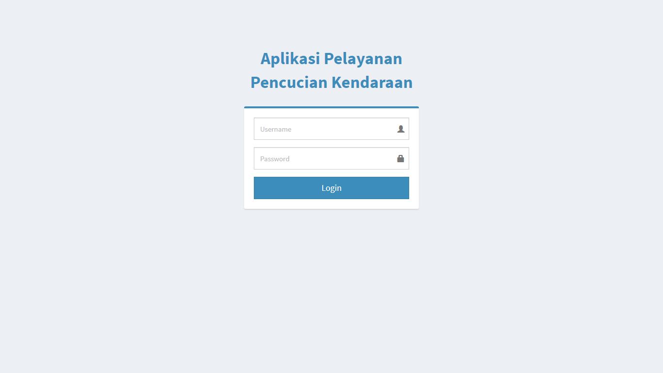 Aplikasi Pelayanan Pencucian Kendaraan (Mobil Dan Motor) - SourceCodeKu.com