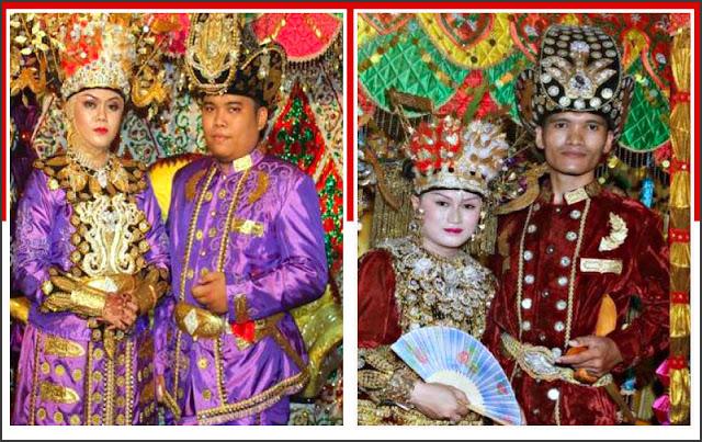 Gambar pakaian adat Gorontalo