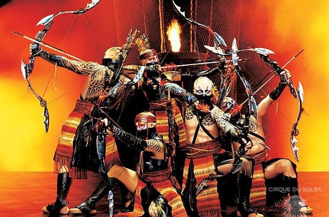 Show KÀ do Cirque Du Soleil em Las Vegas