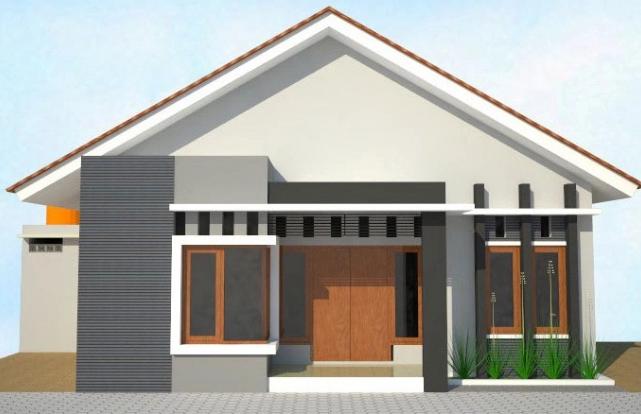 Koleksi Rumah Sederhana Didesa Minimalis Desa Desain 3 Kamar Model