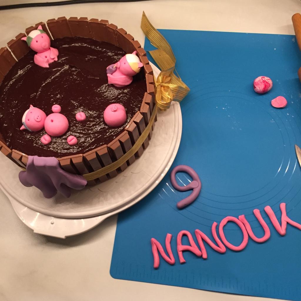 Patisserie Nadine Schweinchen Schwimmbad Torte Fur Nanouk Vegan