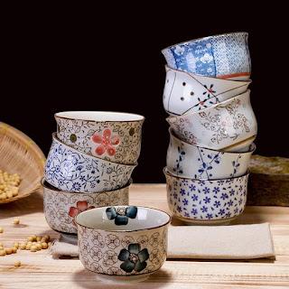 Tô ăn cơm gốm sứ Nhật bản